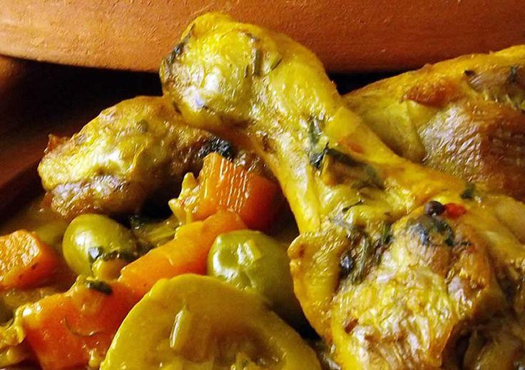 Tajine au poulet avec thermomix. Voici une délicieuse recette de Tajine au poulet, facile et simple a réaliser avec robot thermomix.