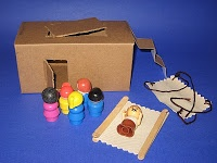 IDEAS UNLIMITED: Jesus Heals A Paralyzed Man - Bible Story & Lesson. Craft sticks and fabric to make a mat.