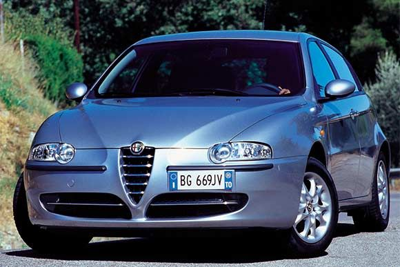Ficha técnica completa do Alfa Romeo 147 TS Selespeed 2003