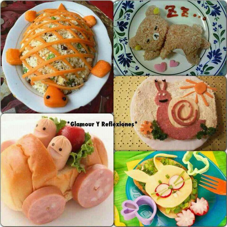 17 mejores im genes sobre ni os comidas divertidas en - Comidas para un cumpleanos ...