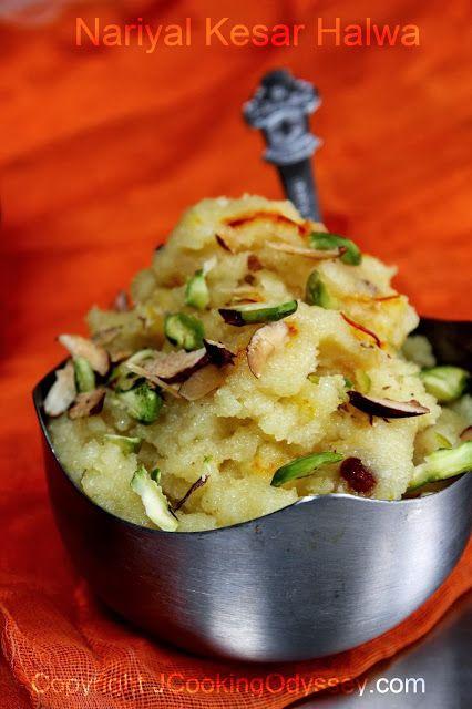 http://www.jcookingodyssey.com/2013/08/coconut-saffron-semolina-pudding.html