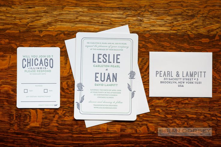 Photography : Brian Dorsey Studios | Stationery : Robinson Press Read More on SMP: http://www.stylemepretty.com/illinois-weddings/chicago/2016/09/28/charming-vintage-inspired-wedding-in-chicago/