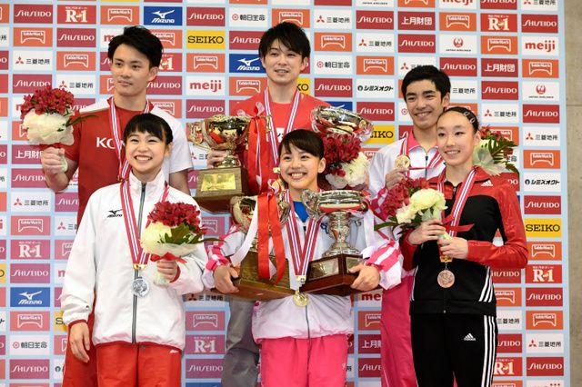 内村、史上初10連覇 2位と僅差 体操全日本個人総合 #体操 #内村航平