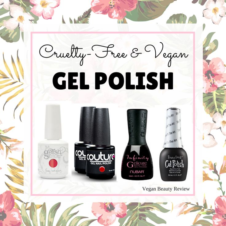 I've been receiving lots of e-mails lately inquiringabout cruelty-free and vegan gel nail polish, so I thought I'd whip up a quick list. All of the gel and gel-like polishes listed below are 100% cruelty-free and vegan. If I've left any off the list, please lemme know in the comments below. Also be sure to... Read More >>