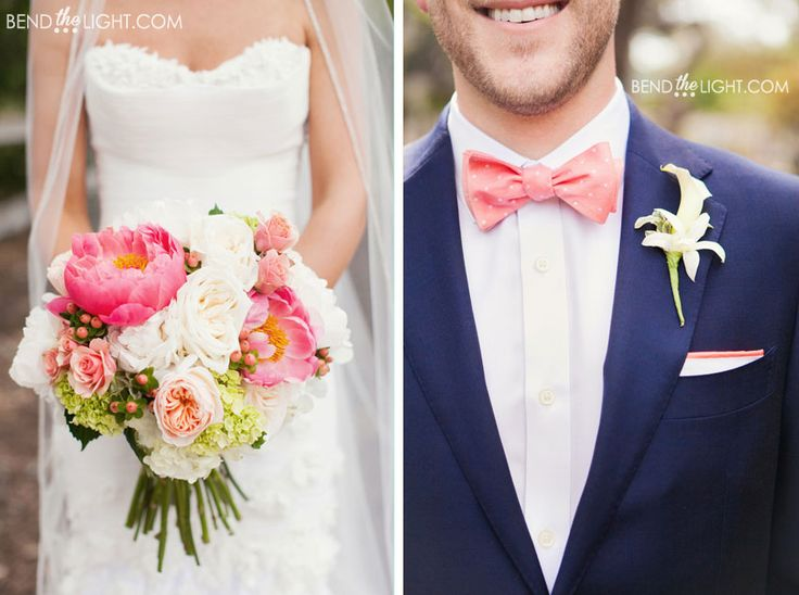 28-pink-coral-navy-blue-wedding-color-scheme-hyatt-hill-country-resort-weddings