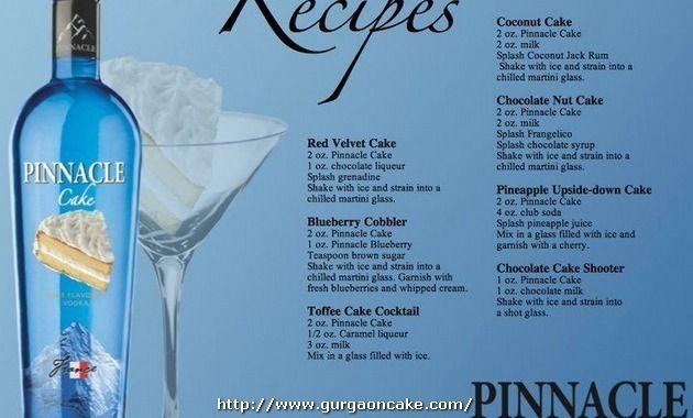 Birthday Cake Vodka Recipes