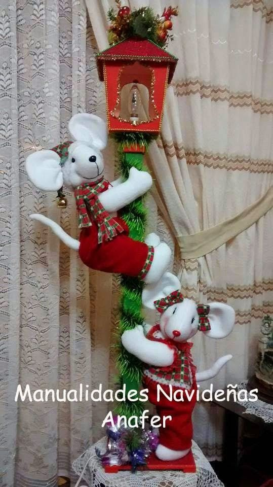 Manualidades navide as anafer navidad pinterest - Decoracion navidena artesanal ...