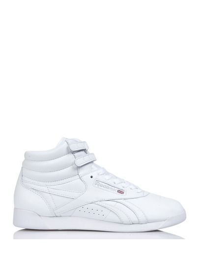 Reebok Freestyle Hi Og Lux en cuir Blanc by REEBOK