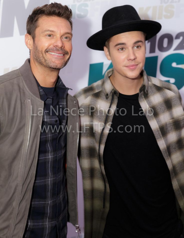 Ryan Seacrest and Justin Bieber