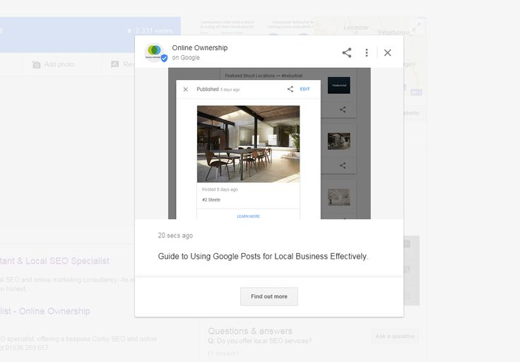 Using Google Posts for Local Business Effectively - Online Ownership