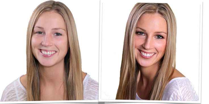 Before & After - Parlou Makeup