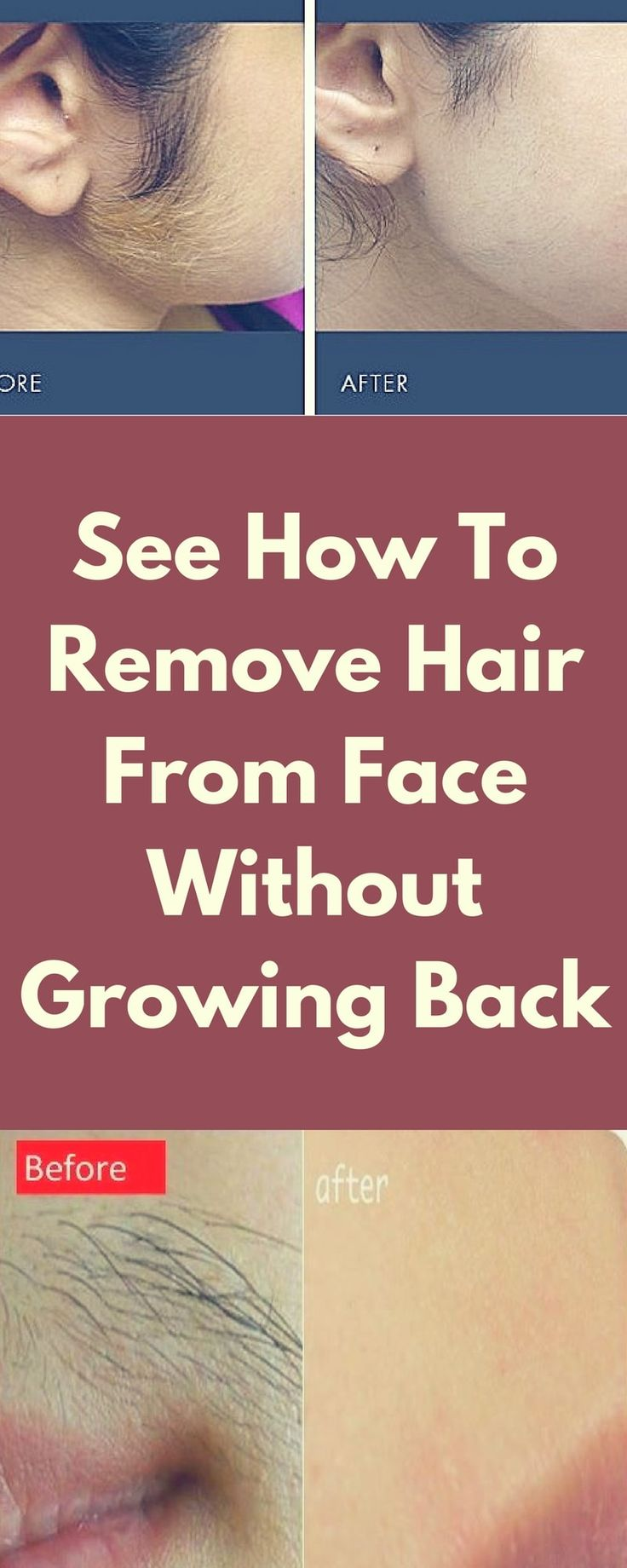#hair #face #beauty #solution #remedy #home