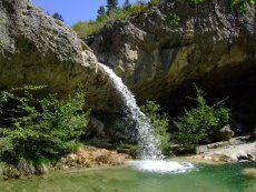 Pontaix cascades de l'Aiguebelle