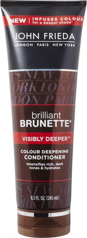 John Frieda Brilliant Brunette Color Deepening Conditioner