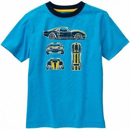 Camiseta Gymboree Racecar manga larga