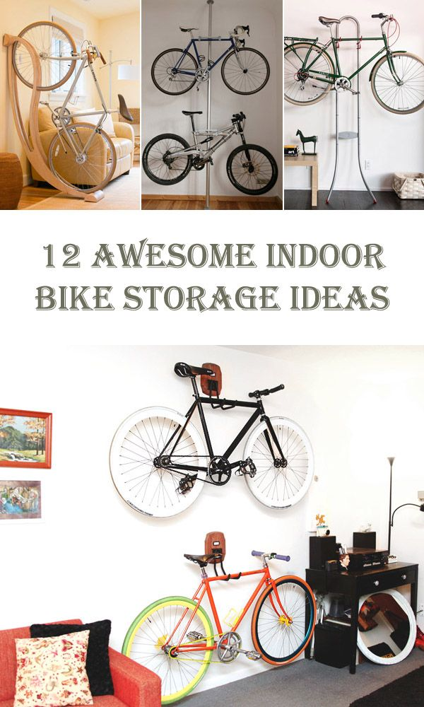 12 Awesome Indoor Bike Storage Ideas