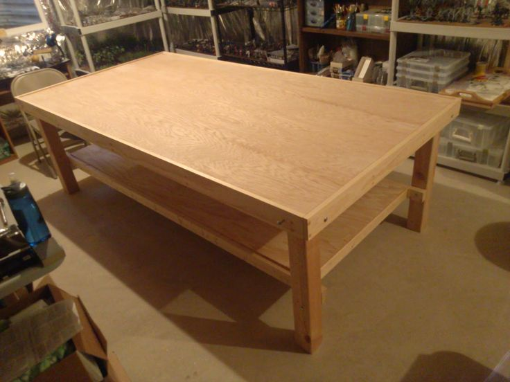 how to build a gaming table