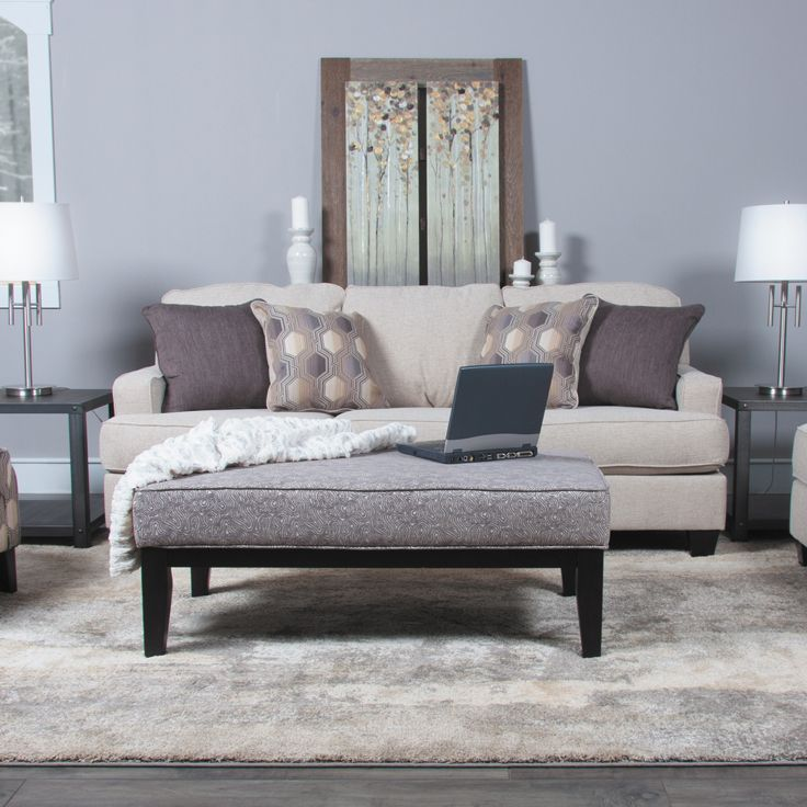 Create a warm and cozy living room with the Brielyn Linen ...