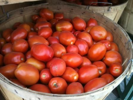 #Tomatoes home grown, awesome to make sauce for you to enjoy all year long!