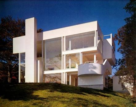 Richard Meier (b. 1934) | Smith House | Darien, Connecticut | 1965-1973