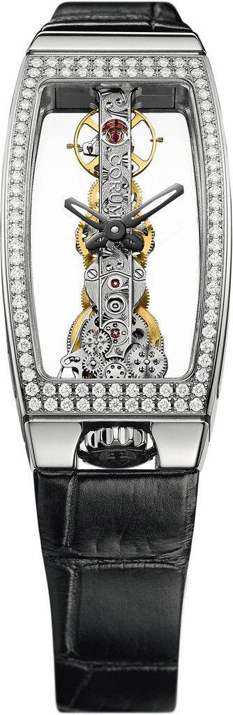 #Corum #Miss Golden Bridge #Bezel-diamond #Brand-Corum #Baselworld #Watch #SIHH