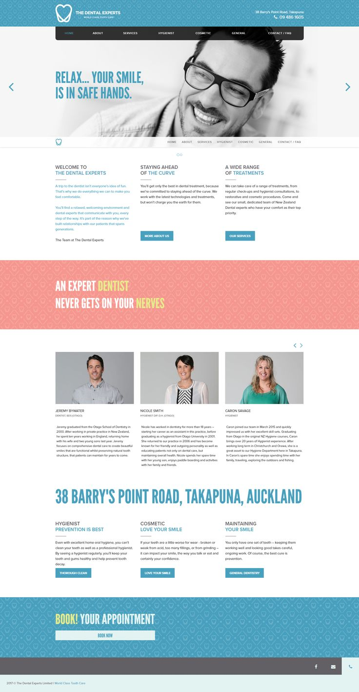 WP Jump Start Version: Version: 2.1.1 thedentalexperts.co.nz - Produced by Mizzinc
