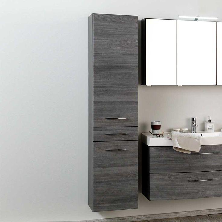 Die besten 25+ Badezimmer unterschrank grau Ideen auf Pinterest - badezimmerschrank mit spiegel