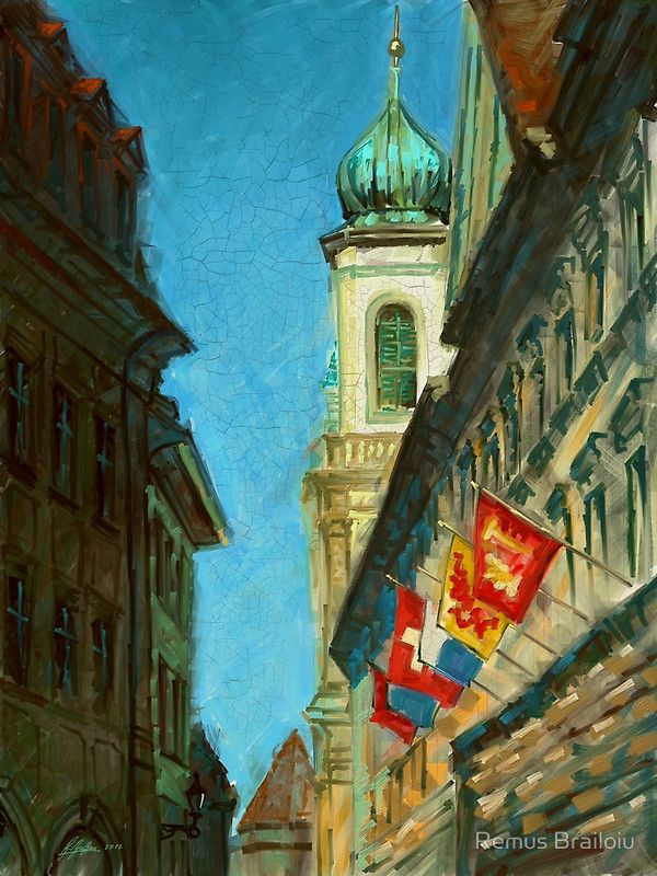 """Lucerne Tower"" Photographic Prints by Remus Brailoiu 