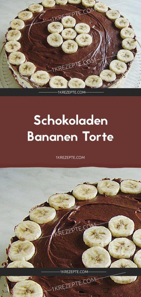 Schokoladen – Bananen-Törtchen – Rezepte 1k   – Essen und trinken