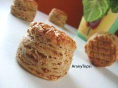 AranyTepsi: Hajtogatott tepertős pogácsa