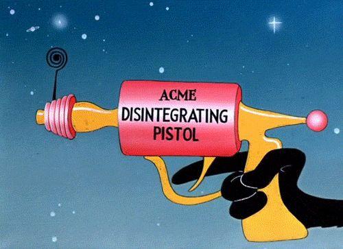 Acme Disintegrating Pistol