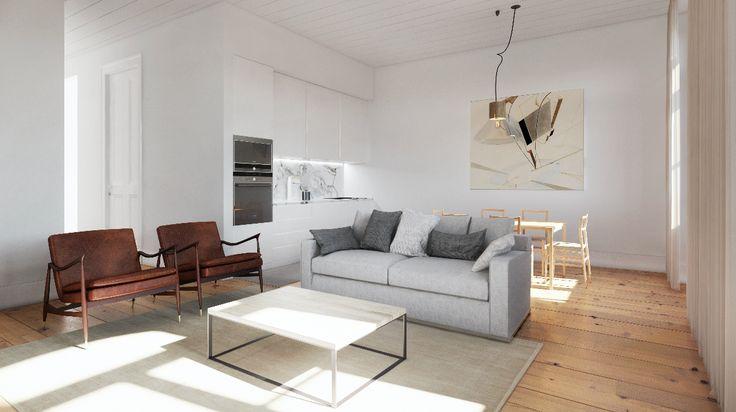 Fragmentos de Arquitectura | Rua do Carmo | Arquitetura | Architecture | Atelier | Design | Indoor | Details | White | Minimal | Living Room | Sofas | Pillows | Minimalism