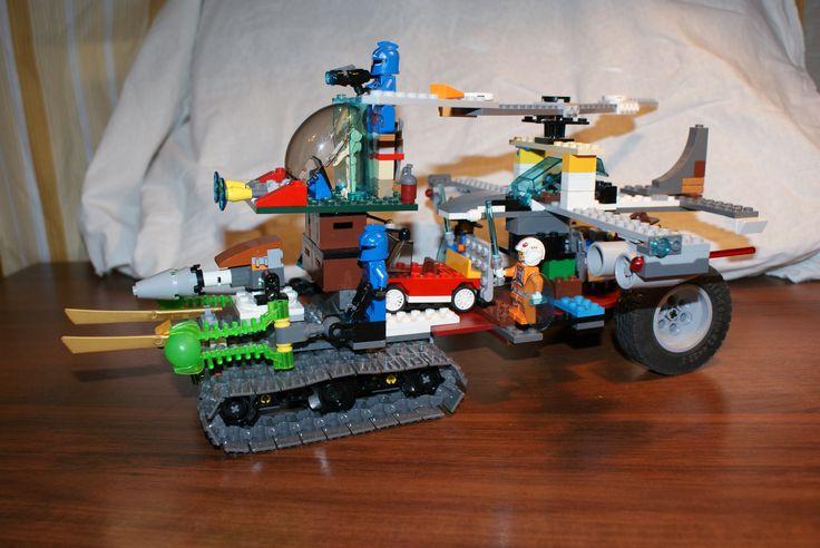LEGO автомобиль мечты  Фадеева Льва, 6 лет.