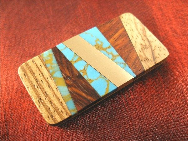 Handmade Money Clip for Men Money Clip Wallet by jammerjewelry