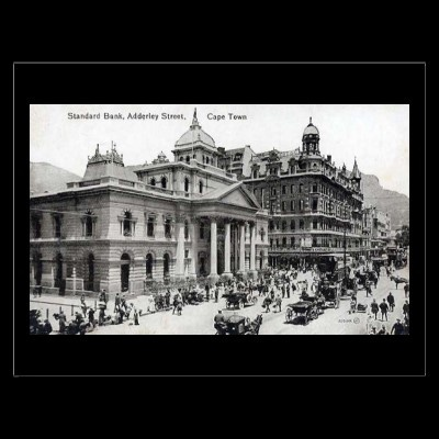 Old Postcard - Cape Town, South Africa by gregoryolney2