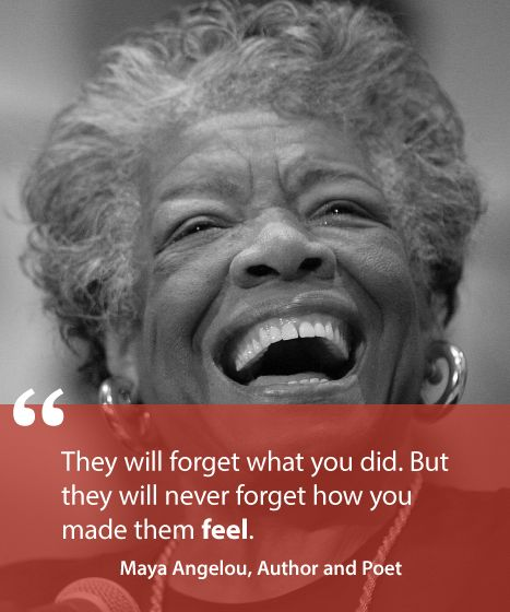 Maya Angelou Quote // 8 Customer Service Quotes To Transform Your Business