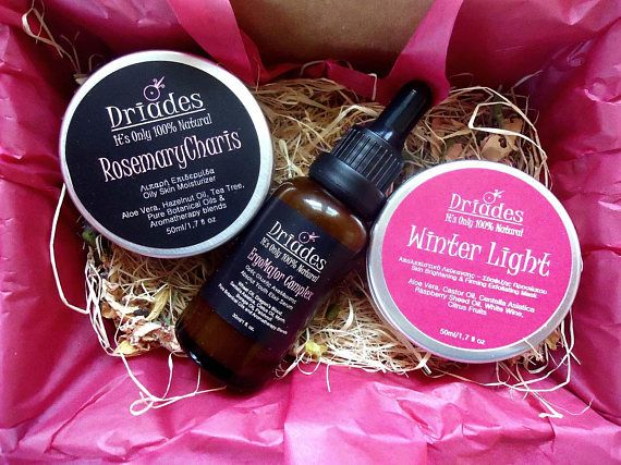 Luxury natural skin care gift set of 3 items of your choice. Facial spa kit. Personalized care package for mom. Vegan skincare combo kit. Beauty essentials gift set. Freshly  #handmade to order by #Driades #naturalskincare #veganskincare #carepackage #cosmeticgiftset #giftideas #forwomen #giftsformom  #valentinesdaygifts #easter #giftsforwife #beautygiftset #organicskincare #naturalbeauty #luxurygiftset #bridal #bridesmaids #bridalluncheonfavors
