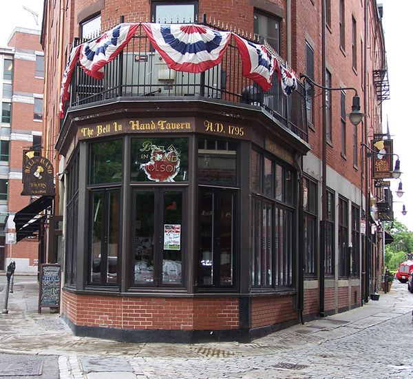 Bell in Hand Tavern – Boston – Founded 1795