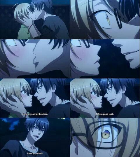 Love Stage!! ~~ If this scene didn't make your pulse quicken, you should see your doctor. :: Izumi and Ryouma