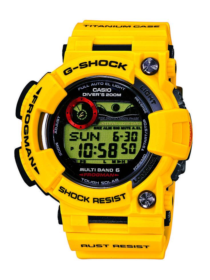 Casio G-Shock 30th Anniversary Limited Edition Lightning Yellow ...