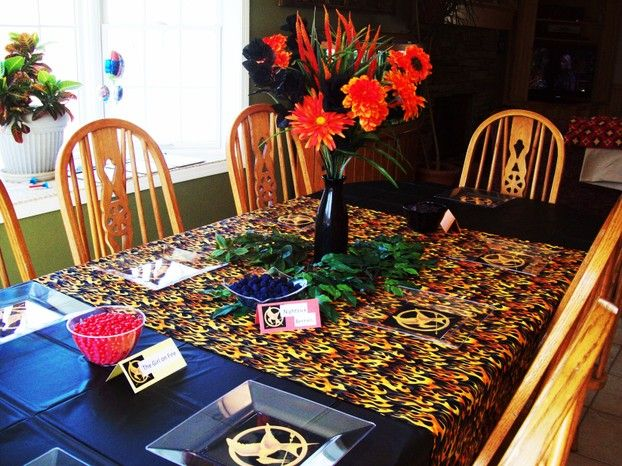 DIY: Hunger Games Party Plates