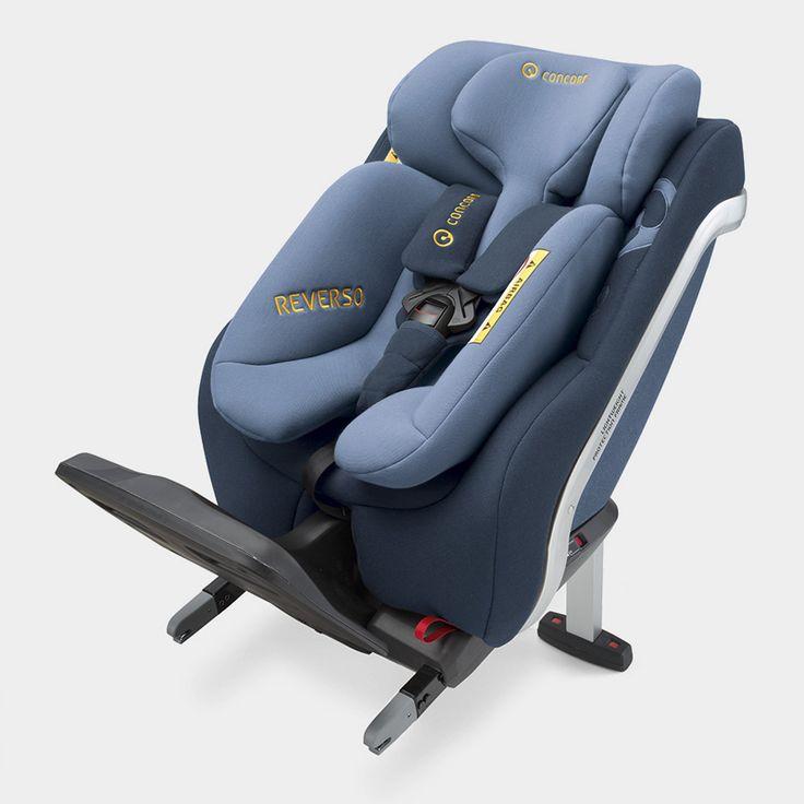 Reverso Der neue i-Size Reboarder Kindersitz (ECE R 129) von Concord.  Größe: bis 105 cm / Gewicht: bis 23 kg / Alter: bis ca. 4 Jahre