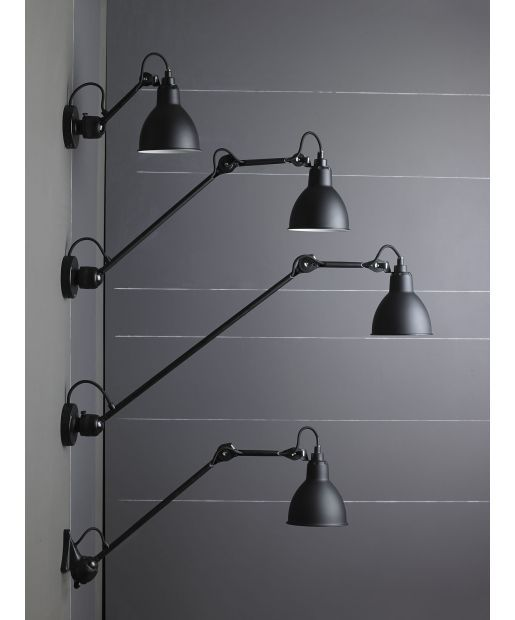 Applique Gras 304L40 - Lampes Gras - DCW - Appliques et lampes
