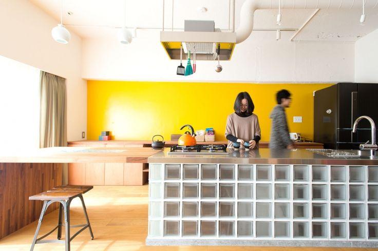 リフォーム・リノベーション会社:ブルースタジオ「なじみの街で見つけたヴィンテージなメゾネットに住む」