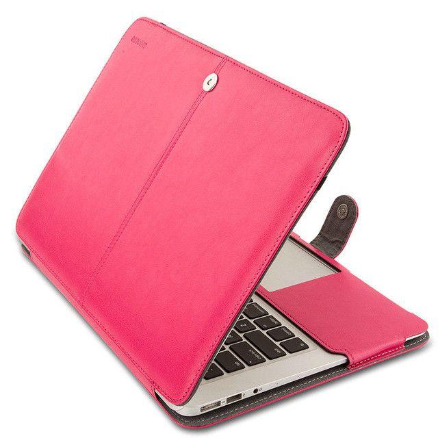MOSISO Book Cover for Apple Macbook Air 13 PU Leather Sleeve Book Case for Mac book Pro 13 Retina 13.3 Laptop Folio PU Case Hot