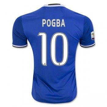 Juventus 16-17 Paul Pogba 10 Bortatröja Kortärmad  #Billiga #fotbollströjor