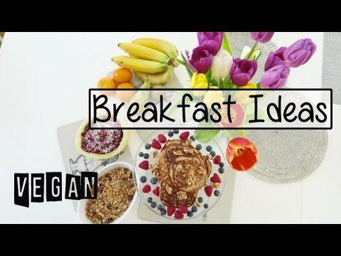 3 Vegan Breakfast Ideas | Nice delicious recipes by Cornelia Grimsmo