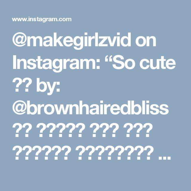 """@makegirlzvid on Instagram: """"So cute 😍👧 by: @brownhairedbliss ها المرة جبت لكم تسريحة للبنوتات تناسب الي شعرها كثيف مو زي البنوته الي في الفيديو 😘 ان شاء الله تعجبكم…"""""""