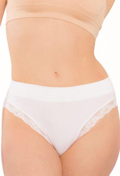 High Waist Women's Lace Panties - Soft Touch