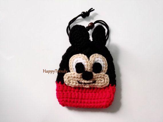 BA006 Crochet purse, Handmade purse, DIY purse - FREE SHIPPING